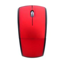 Nowa mysz optyczna składana mysz bezprzewodowa światła w kształcie łuku do gier myszka do PC na laptopa