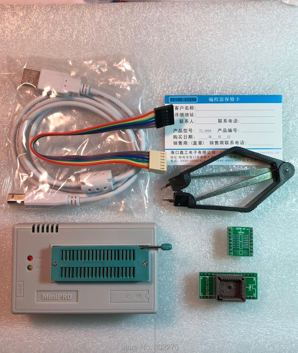USB MiniPro TL866CS Universal BIOS Programmer EPROM FLASH 8051 AVR GAL PIC Support More Than 13000