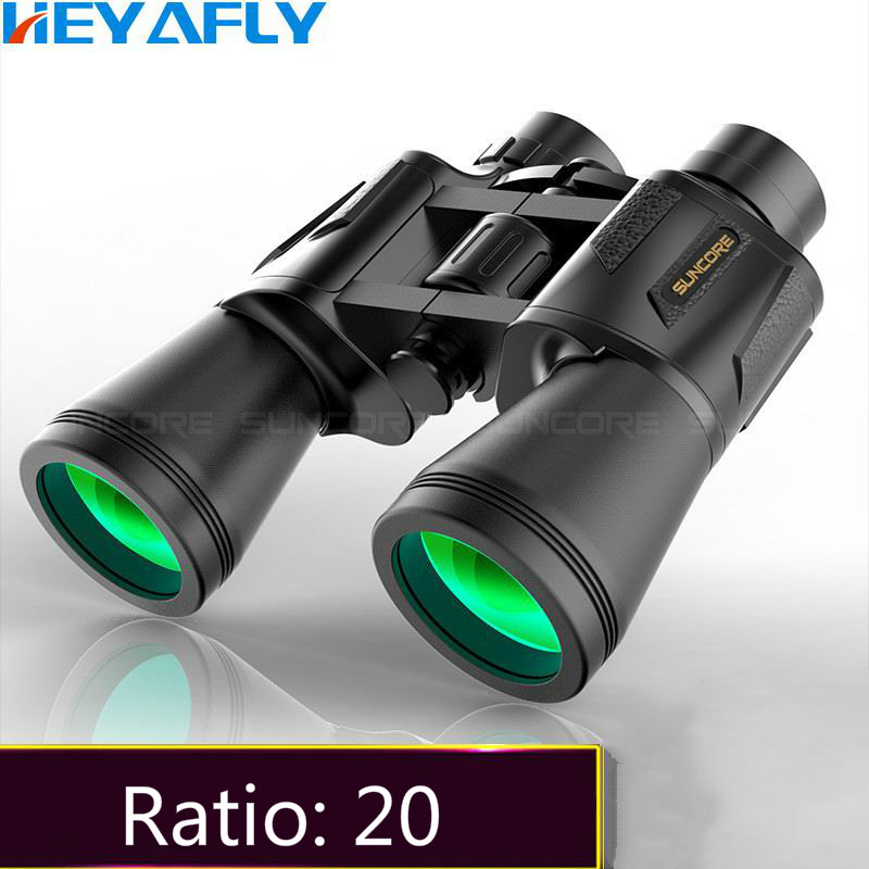 Outdoor binoculars, 20 magnification, high-definition high power night vision large caliber waterproof telescope