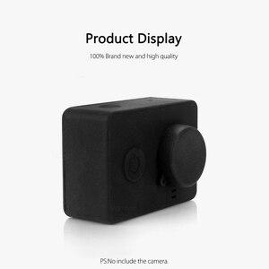 Image 5 - Vamson para xiaomi para yi acessórios à prova de poeira silicone caso protetor + tampa da lente para xiaomi para yi esporte ação câmera vp620
