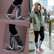 Комплект непромокаемых сапог, водонепроницаемые чехлы для обуви, для верховой езды, утолщенная подошва, черные и белые высокие трубки,, на заказ, 215 XL@ 15