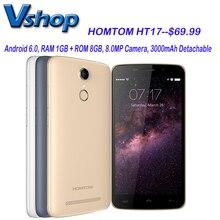 HT17 Homtom Android 6.0 5.5 pulgadas 4G LTE Teléfono Móvil RAM 1 GB ROM 8 GB Quad Core 1280×720 P Soporte OTA OTG Desbloqueado Teléfono Móvil