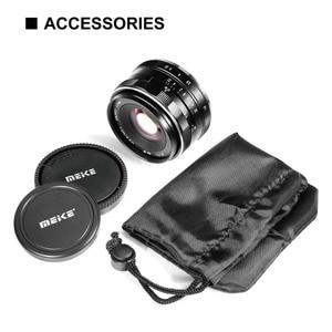Image 5 - Meike 35mm F1.4 Manual Focus สำหรับเลนส์ SONY E mount A7R A7S A6500 A7/Fuji X T2 X T3 /Canon EOS M M6/M4/3 กล้อง Mirrorless + APS C