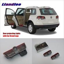 Liandlee Car LED Courtesy Welcome Lights For Skoda Superb 2009~2014 Projector Light Of Lamp Vehicle Door