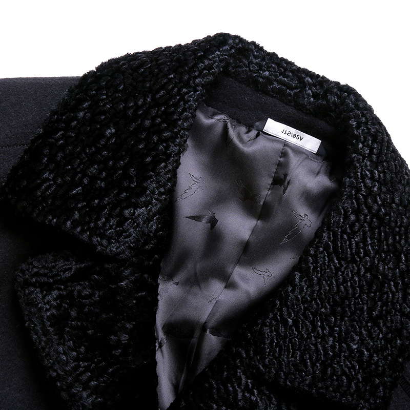 High quality, autumn and winter new mens woolen coat. Business casual dress Wool Blends