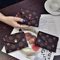 2017 New Short Retro Old Flowers Casual Wallet Clutch Bag Ladies Leather Purse Leather Wallet Women Designer Purse Luxury Brand