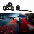 12V-24V Anti-Fog Anti Collision Rear-End Car motorcycle Laser Led Car Rainproof Tail Fog Lamp Auto Rearing Warning Light BE