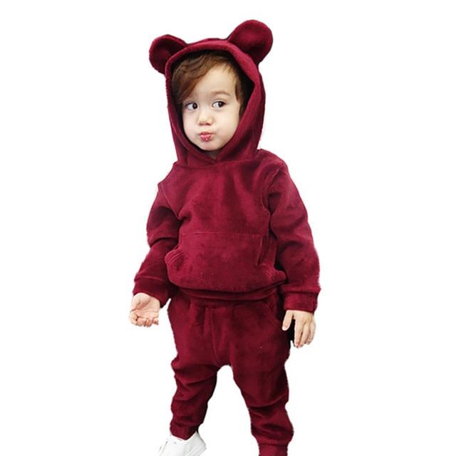 3752996be9ce Детская Обувь для девочек Комплект одежды для мальчиков зима-осень Милая  Пижама для мальчиков модные