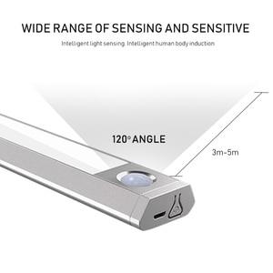 Image 3 - Light Motion Sensor Led Smart lamp Under Cabinet Light Three Color Temperature Three Mode Lighting for Cupboard Closet Kitchen