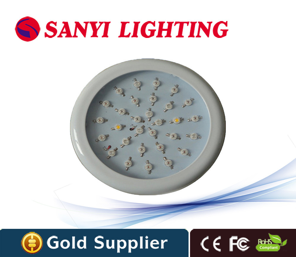 90w 30leds Ac85-265v Led Grow Light Lamp for Plants Flower/greenhouse Growlight/ Hydroponic System Free Shipping led induction grow light 20w ac85 265v flood lamp for greenhouse plants flowers hydroponic systems free shipping