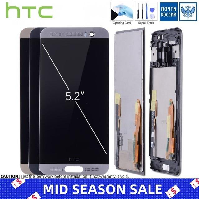 Дисплей для HTC One M9 M9E M9W LCD в сборе с тачскрином на рамке Оригинал Черное Белое Золото