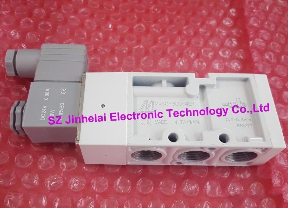 все цены на Authentic original MVSC-300-4E1 DC24V AC220V MINDMAN Solenoid valve онлайн