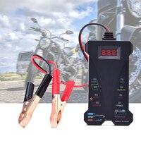 12V Digital Battery Tester Car Storage Battery Tester Analyzer Voltage Car Accumulator Battery Condition Test Tool