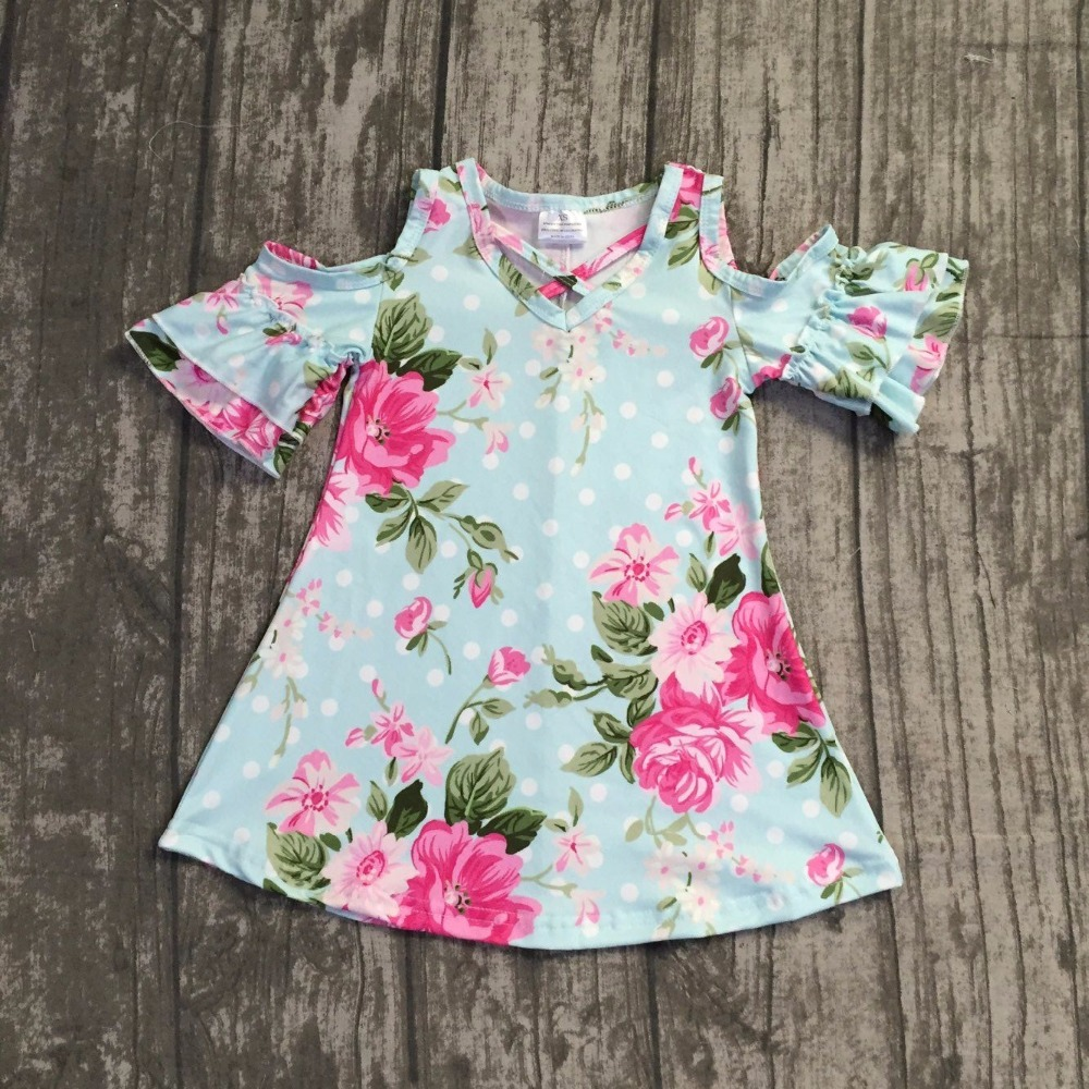 baby girls summer milksilk dress girls floral dress children soft boutique dress summer dress milksilk dress pink floral dress new design baby girls summer dress clothing girls floral dress children soft minl silk dress girls green floral boutique dress