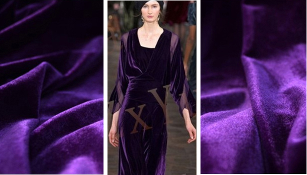Europe Style Evening Dress Velvet Fabric South Korea Pleuche patchwork telas Velvet felt tissue Solid fabrics for patchwork