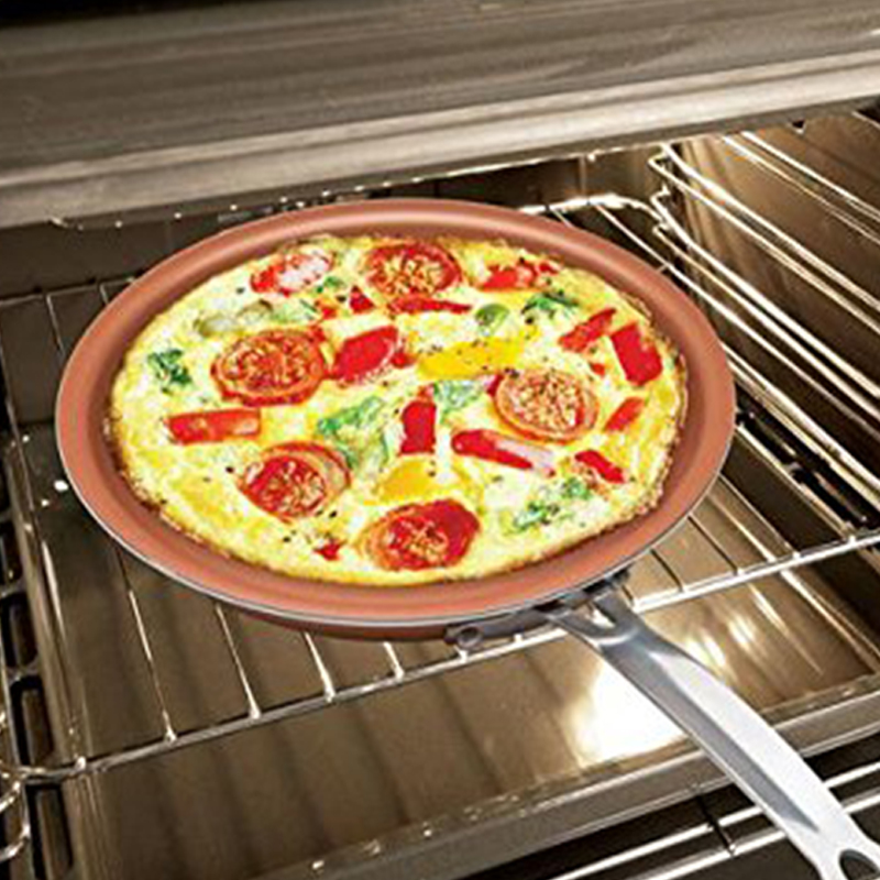 10 дюймов сковорода антипригарная сковорода устойчивый к царапинам жаростойкий от плиты до духовки