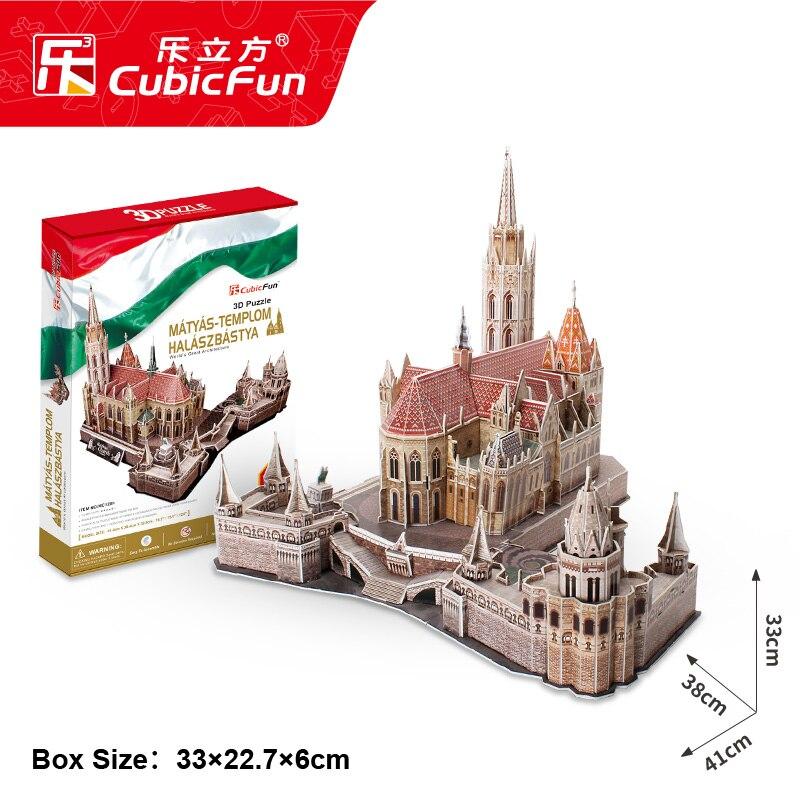 Welt Klassische Architektur Christchurch 3d Papier Modell Diy Sammeln & Seltenes Gebäude & Konstruktionsspielzeug