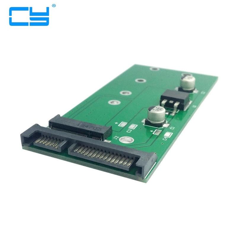 M.2 NGFF SSD PCI-E 2 Lane para 7mm 2.5 22pin SATA caso disco rigido PCBA para E431 E531 X240S Y410P Y510P factory price mosunx 2 in 1 mini pci e 2 lane m 2 and msata ssd to sata iii 7 15 pin adapter drop shipping drop shipping