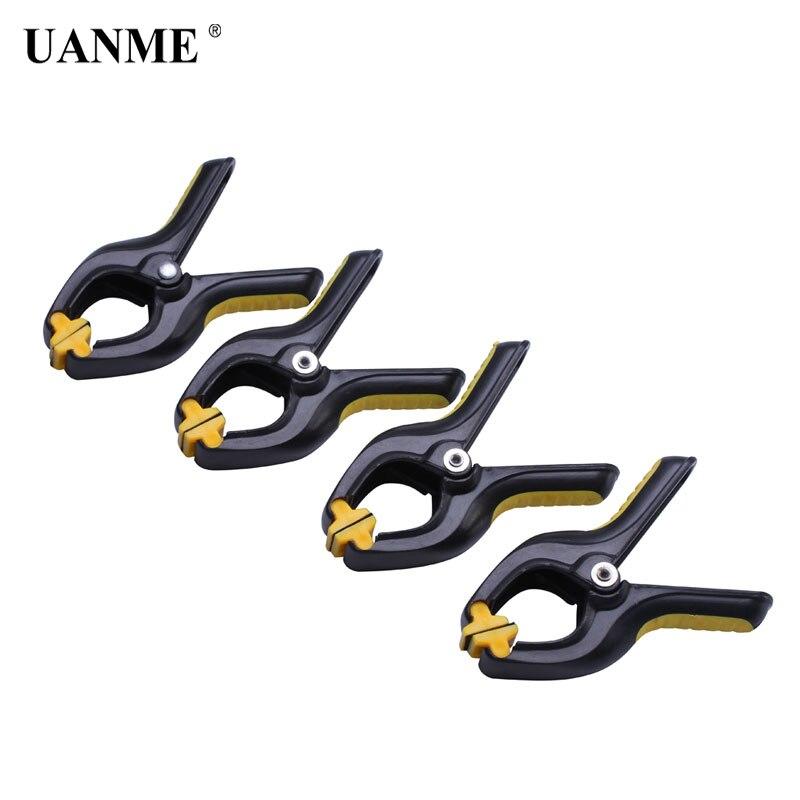 Zangen Uanme 3,3 Zoll Heavy Duty Kunststoff Nylon Frühling Schellen Clip Kiefer Öffnung Handwerk Foto Clip Für Diy Holzbearbeitung Werkzeuge