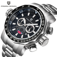 PAGANI DESIGN New Arrival 2018 Sports Men Watches Chronograph Date Cool Military High Quality Unique Luxury Wristwatches