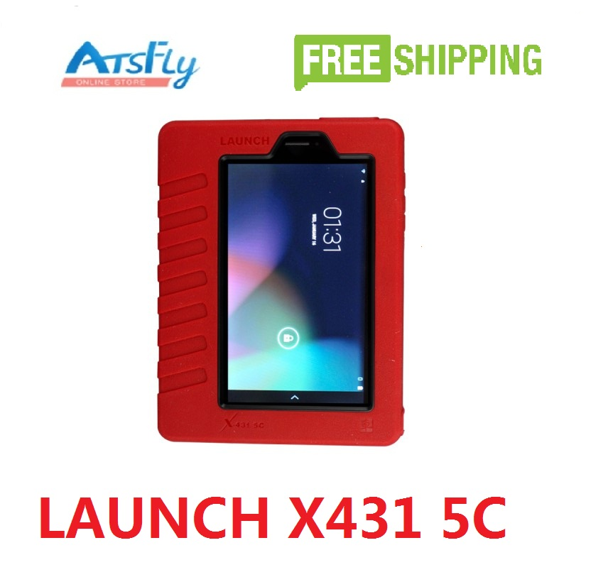 Free shipping Launch X431 5C Wifi/Bluetooth Table Diagnostic Tool Launch X431 5C Car Scanner X-431 5C OBD Universal Auto Scanner