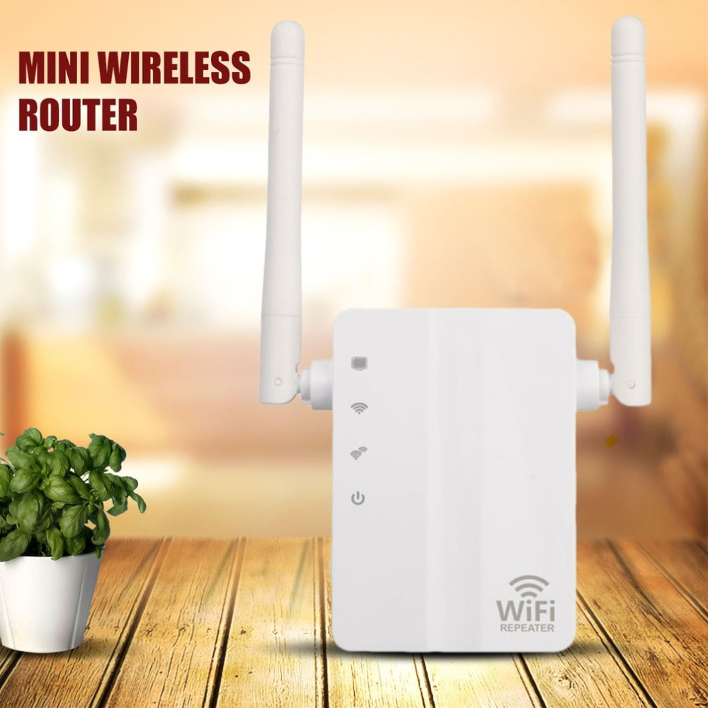 750Mbps 2.4G + 5G WiFi Repeater Home Travel Wireless Router Signal Booster Extender Factory Community Street Signal Amplifier EU