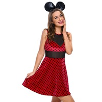 FGirl Cosplay Costume Sexy Halloween Costumes For Women 2pcs Mistress Mouse Costume FG41735