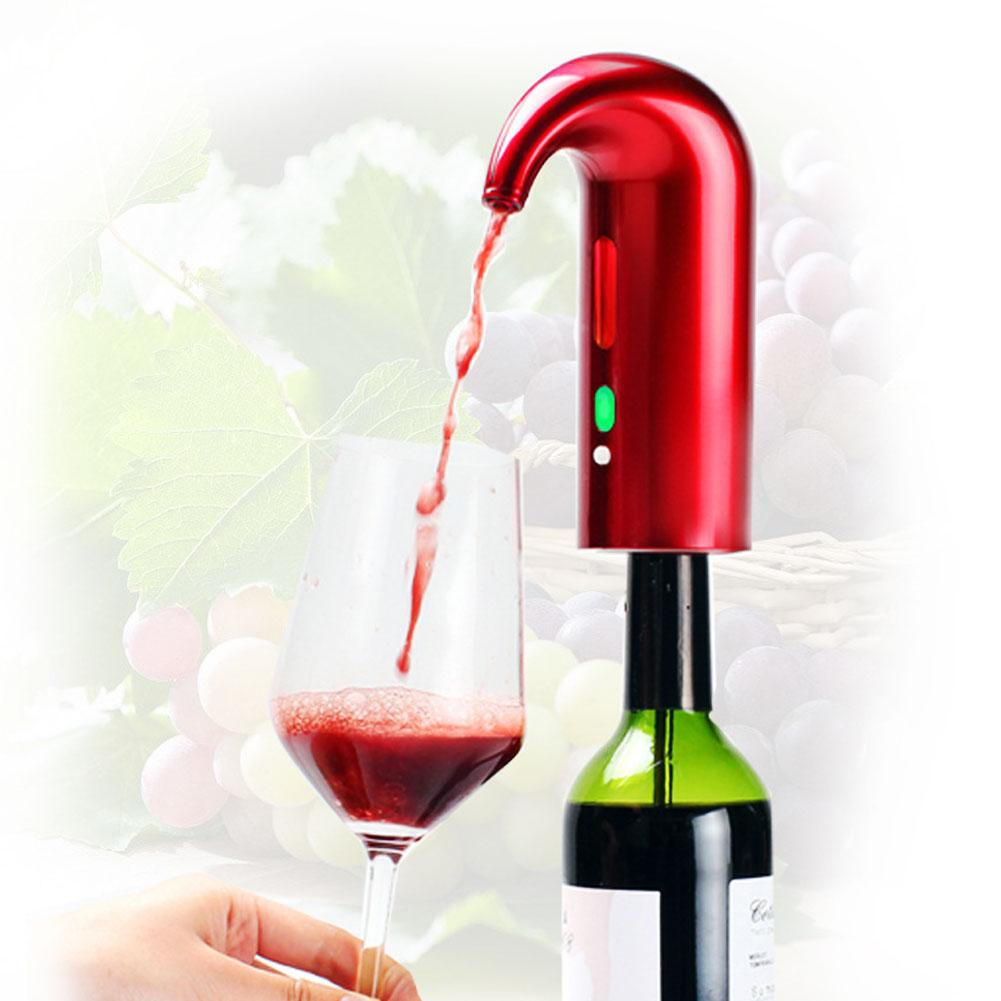 Electric Wine Aerator and Automatic Wine Decanter Powered by Rechargeable Battery