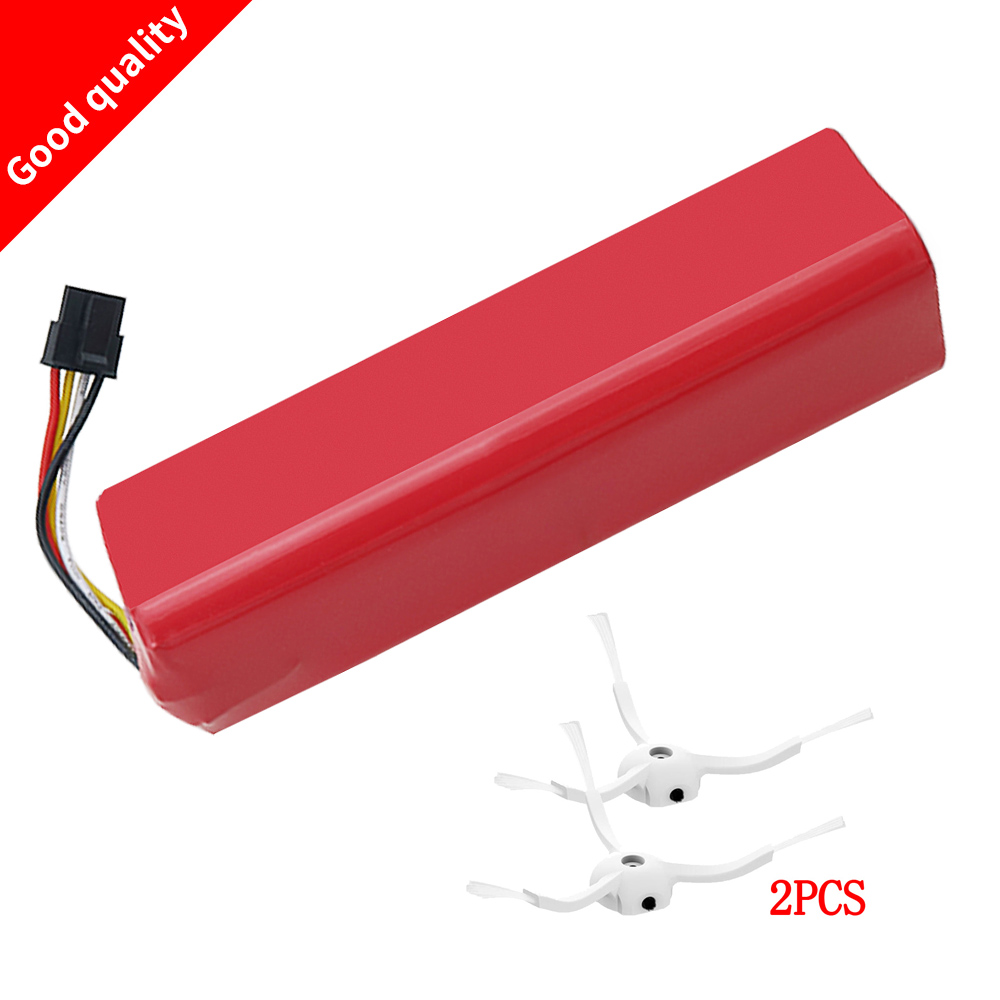 NEW 5200mAh li-ion 18650 mi robot Vacuum Cleaner accessories parts battery for xiaomi mi robot Robotics cleaner roborock S50 S51 feima robotics j me spare parts propellers