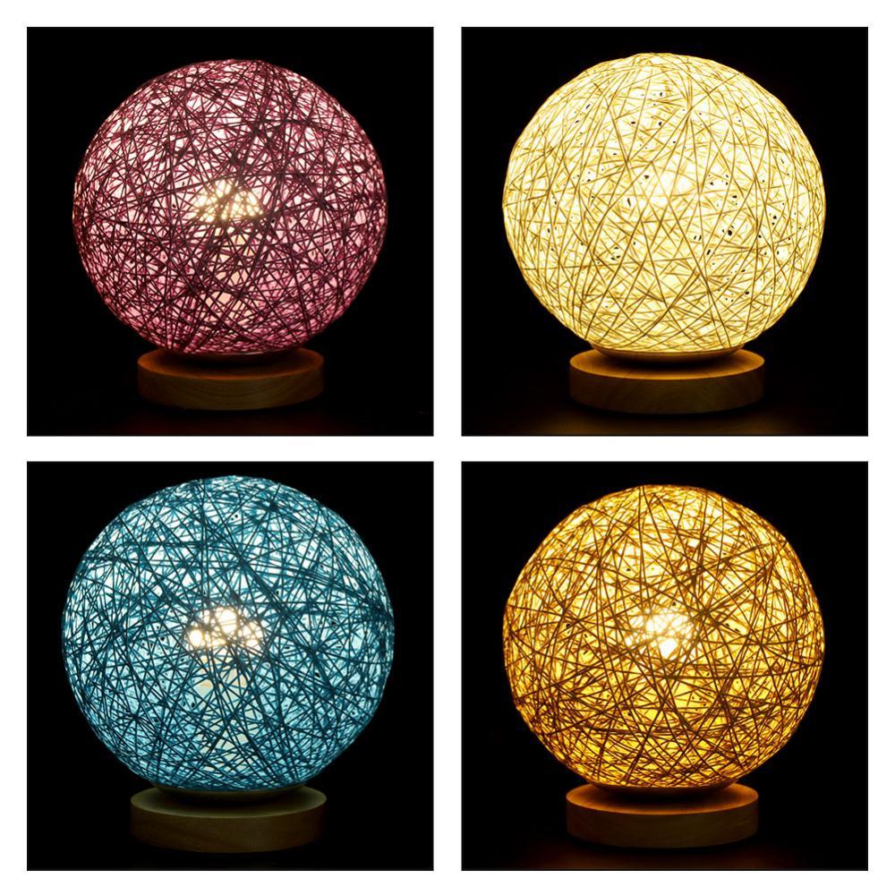 Sepak Takraw LED Desk Lâmpada Luz luminaria Decoração do Quarto Da Lâmpada de mesa CONDUZIU a Lâmpada de Mesa para Estudar Chinês Plug 110 v-220 v