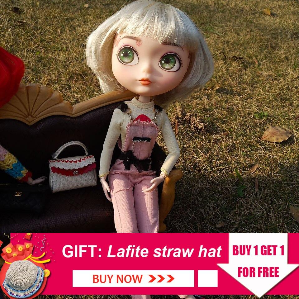 26 cm mode sweet pea BJD 1/6 poupée personnalisée maquillage visage balle articulée poupée pour fille Reborn bébé jouets pour enfants Dressup jeu