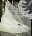 Bride Lace Long Veil Luxury Lace White Wediding Bridal Cathedral Veil Vintage Lace 300CM Long Veil