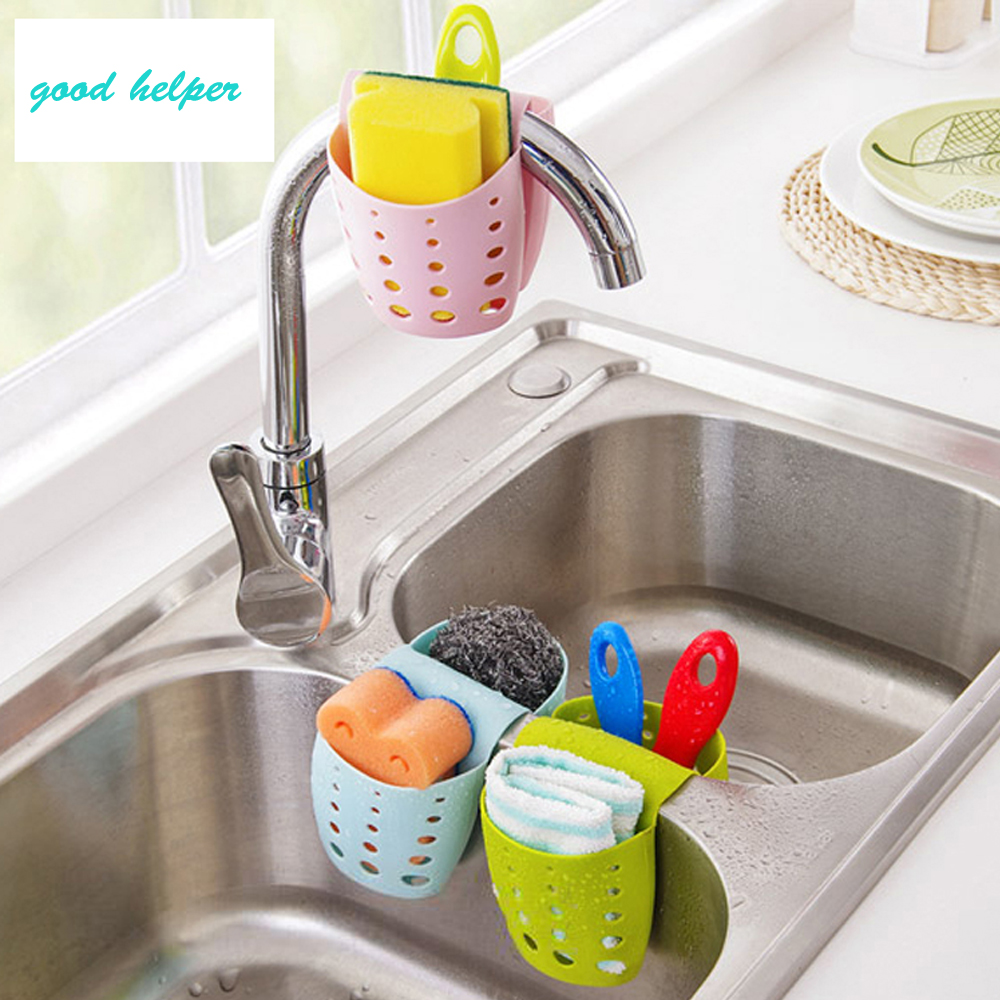 Dunmore Candy Kitchen Home: 1Pcs Candy Color Kitchen Portable Hanging Drain Bag Basket