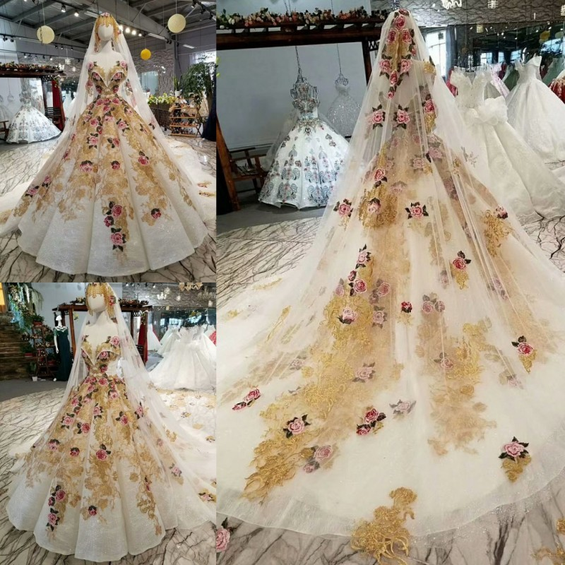 2018 Muster Braut Eine Wort Schulter Koreanische Selbst-anbau Dünne Concise Tailing Schwangere Frau Kleid Volle Kleid 327744 Weddings & Events