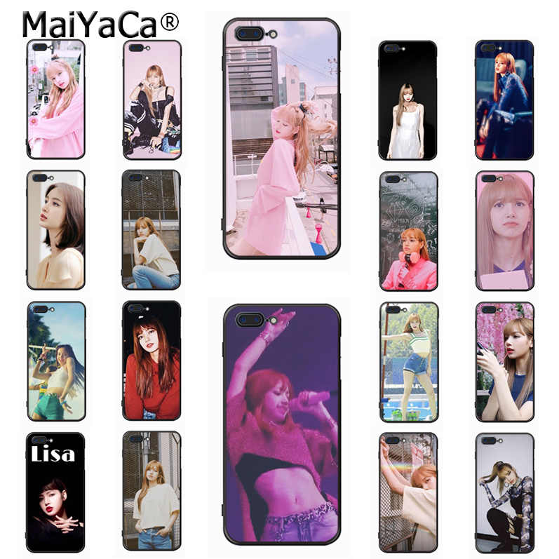 Maiyaca Blackpink Lisa Coque Shell Phone Case For Iphone 11