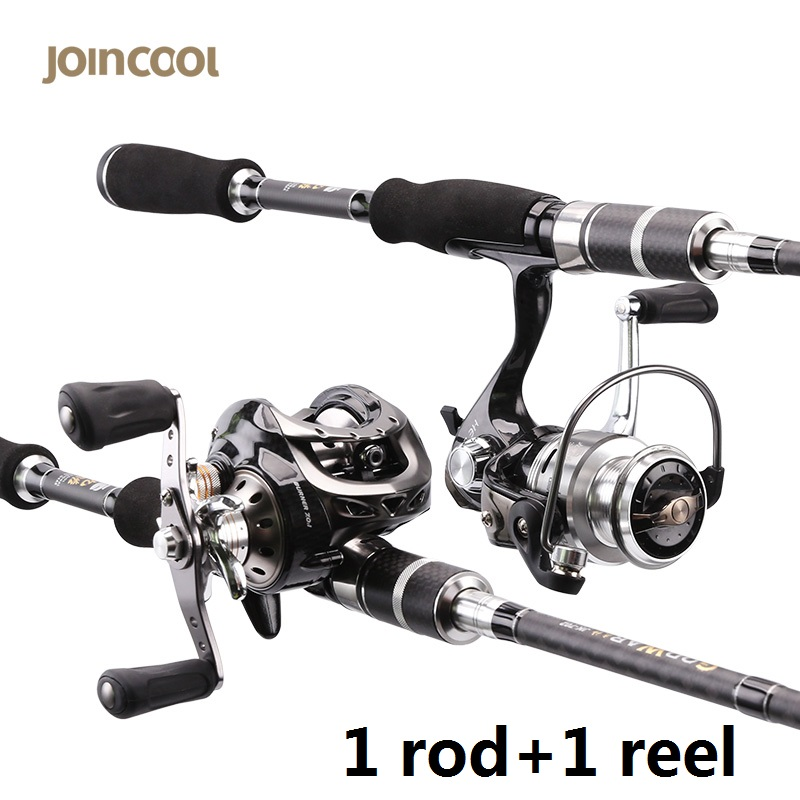 Joincool wushen casting spinning rod reel combo with for Cheap fishing rods and reels combo