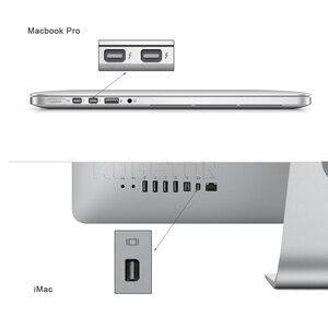Image 5 - Kebidu 10 sztuk/partia dla portu wyświetlacza Thunderbolt Mini DisplayPort kabel adaptera DP do HDMI dla Apple Mac Macbook Pro Air Notebook