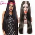 8A Grade Virgin Unprocessed Brazilian U Part Wig Virgin Hair Middle /right/left part Straight Human Hair U part wigs Instock