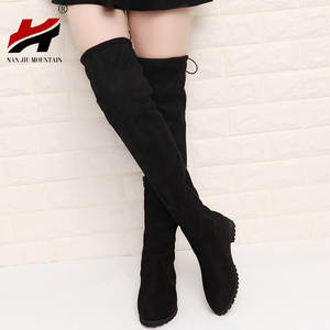 aa22ea65d79 Snow Boots Winter Thigh High Boots Shoes Woman
