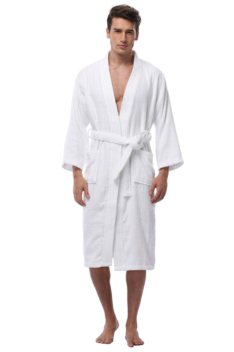 094cac9aa1 ... Turkish Cotton Robes Plus Size Lightweight Long Robe For Men Absorption  After Shower Bathrobe Sleepwear. size chart. size product show. (1) (3) (7)  (6) ...