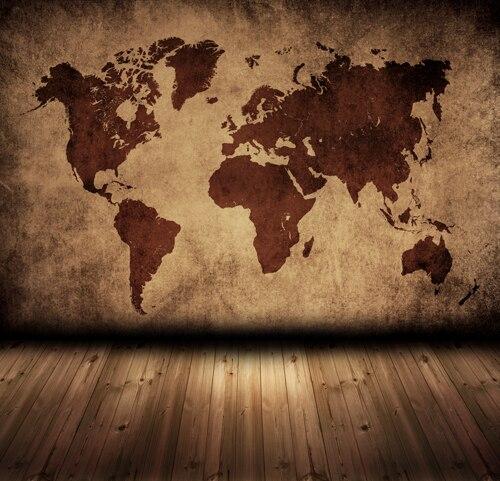 Aliexpress.: Buy HUAYI world map printed on wall photography