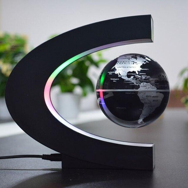 LED Drijvende globo terrestre Licht Verlichte Magnetische Levitatie ...