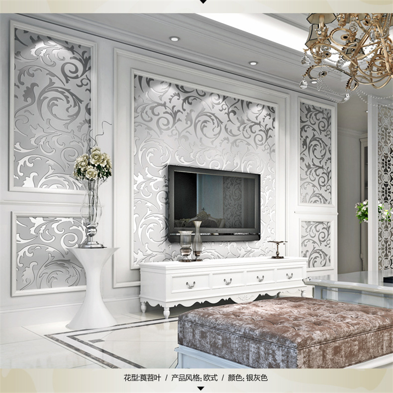 beibehang 3D Hooks Nonwovens Wallpapers Stereo Foam Bedroom Living Room Sofa TV Background Walls