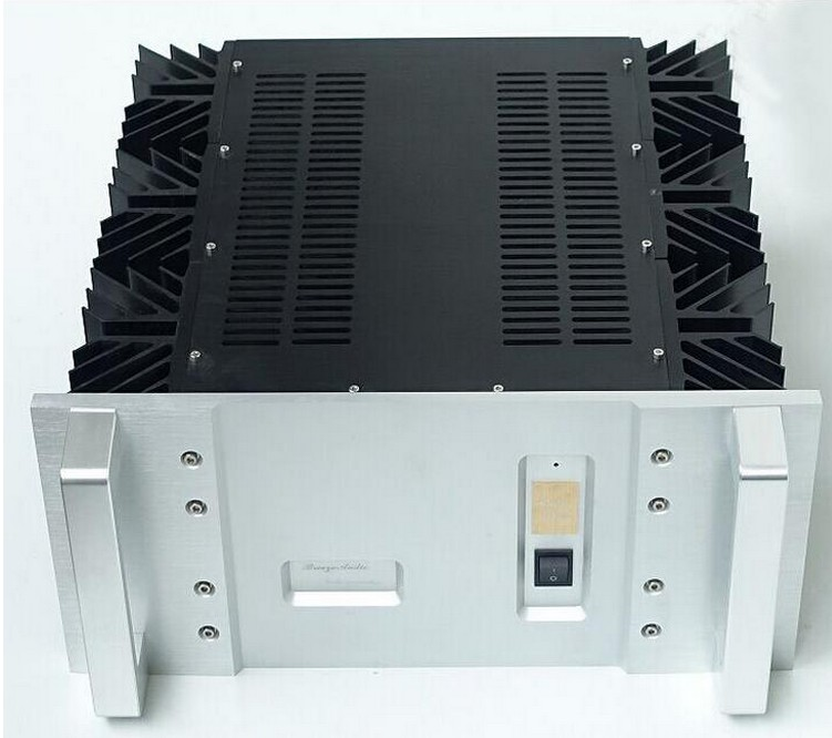 Breeze audio aluminum chassis aluminum case for 50W classA amplifier BZ4923A breeze audio diy aluminum chassis power