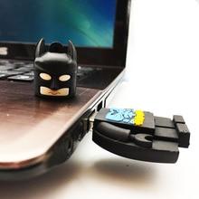 USB Flash Drive 4GB 8GB 16GB 32GB 64GB 128GB Catoon Batman Flash Disk Memory Stick Mini USB Key Pen Drive Flash Card U Disk Key цена и фото