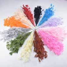 1Pcs/lot Beautiful Goose Feathers Flower Wedding Corsages Pheasant for Crafts Headdress DIY Home Decoration Accessories