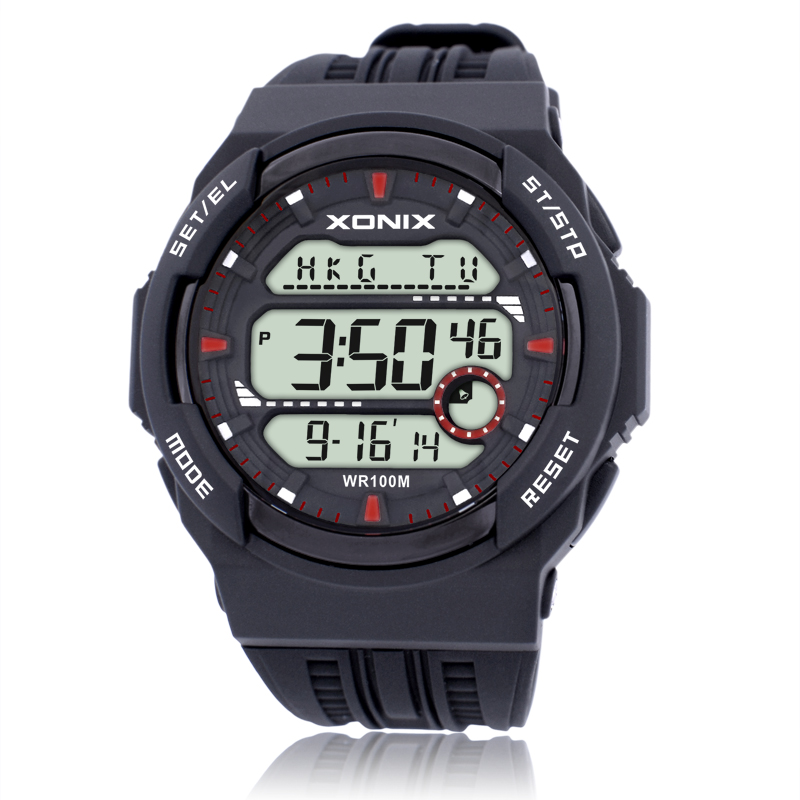 Vanzare fierbinte !!! TOP Lumea Timp Men Sporturi ceasuri Waterproof 100m Digital Watch Running Înot Diving Watch Montre Homme
