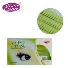 160pcs Individual Lashes Hand Made Black False Eyelash Natural Long Cluster Eyelash Extension Set Makeup 8/10/12mm