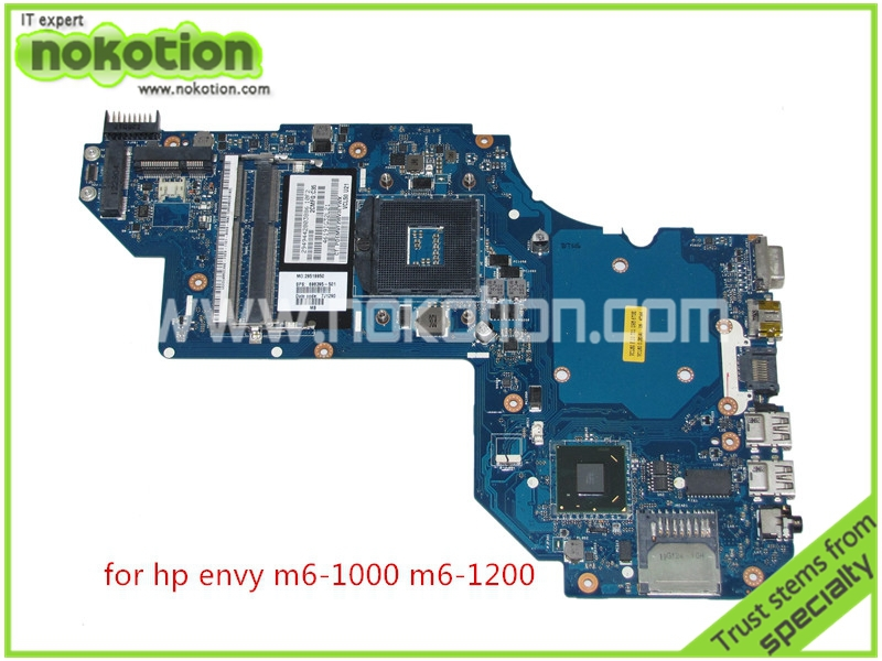 NOKOTION  QCL50 LA-8713P 698395-501 698395-001 for HP Envy M6-1000 M6-1200 Laptop Motherboard intel HD 4000 graphics DDR3 766713 501 766713 001 for hp beats 15z p 15p 15 p laptop motherboard day23amb6f0 a8 5545m 1 70ghz cpu ddr3