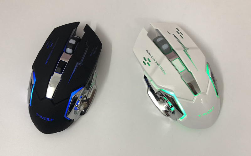 T-WOLF Q13 Rechargeable Wireless Mouse  (28)